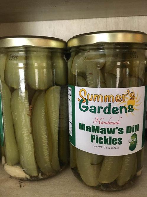 Ma-Maw's Dill Pickles