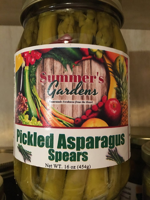 Pickled Asparagus Spears