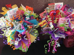 Small candy bouquets