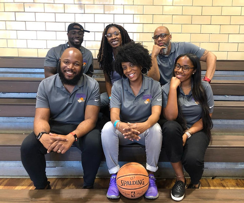 MHBA Staff at IMATTER Basketball event