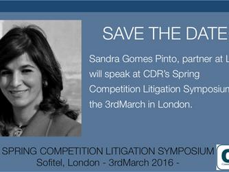 Spring Competition Litigation Symposium