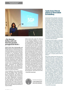 Proud to talk about Portuguese law in Heidelberg!