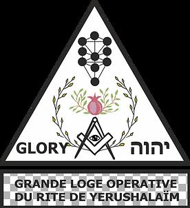 Logo Grande Loge Opérative du Rite de Yerushalaim