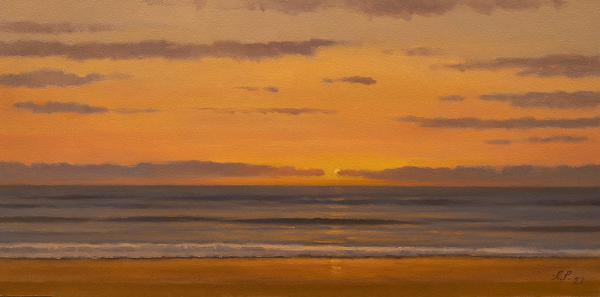 Sunset#1 Oil on Board 8x16.jpg