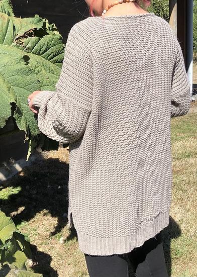 Tejido azalea taupe talla única