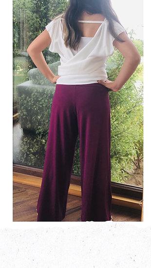Pantalón Notro púrpura talla única