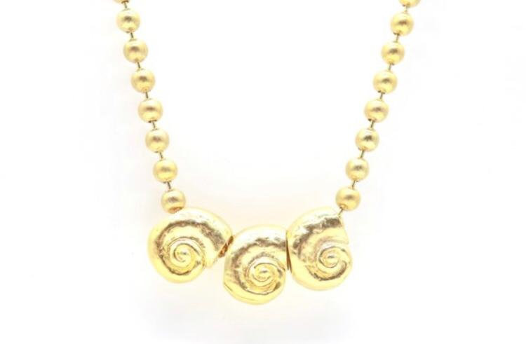 Collar Mini Escargot Monttemarin