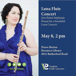 Happening TOMORROW!  Luna's Magic Flute