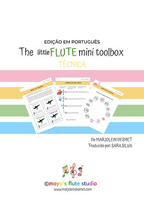 The little Flute (mini) Toolbox - TECNICA
