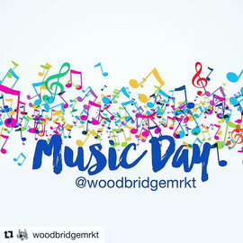 We're making music _woodbridgemrkt today