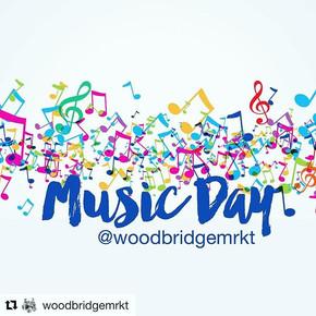 We're making music _woodbridgemrkt today