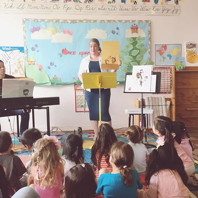 A few weeks ago we received a lovely invitation to return to a local Montessori School to perform Luna's Magic Flute.jpg