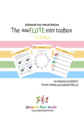 The little Flute (mini) Toolbox: TEHNIKA