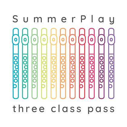 SummerPlay THREE Class Pass
