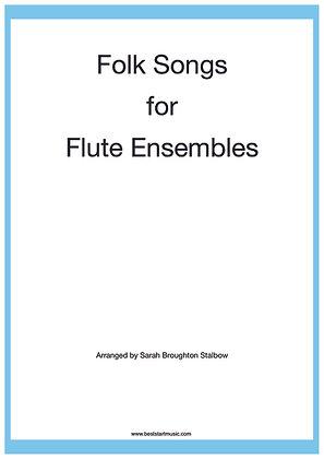 Folk Songs for little Flute Ensembles
