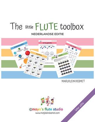 The little Flute Toolbox: Nederlandse  Editie | letter