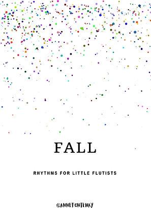 Fall Rhythm Cards
