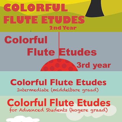 Colorful Flute Etudes