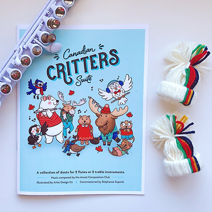 Canadian Critters Suite - Print Edition
