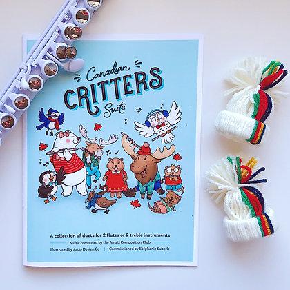 Canadian Critters Suite - COMBO - Print & Digital PDF