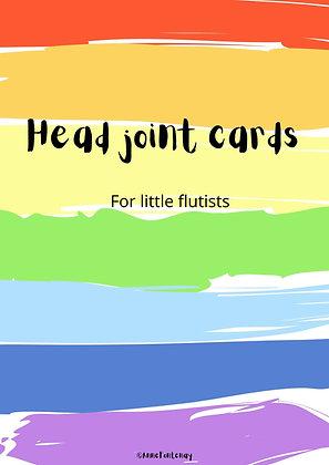 Headjoint Cards