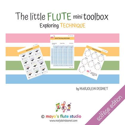 mini Toolbox: TECHNIQUE | solfege