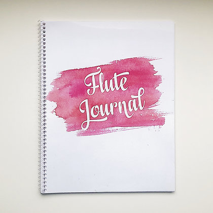 Flute Journal/Dictation Book