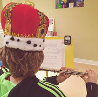 New Year, new crown. Helping our Kinderf
