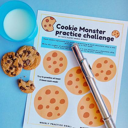 Cookie Monster Practice Challenge