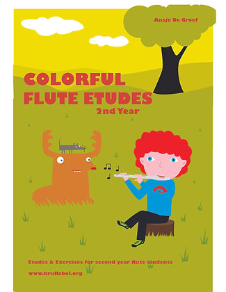 Colorful Flute Etudes - 2nd year