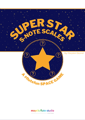 Super Star 5-note Scale Game