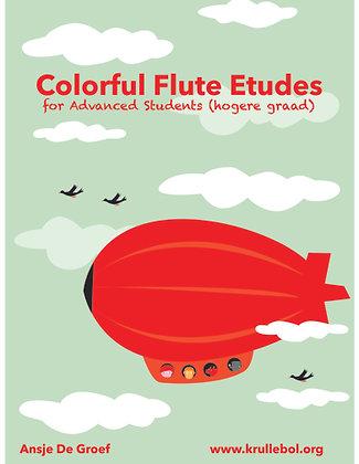 Colorful Flute Etudes - Advanced