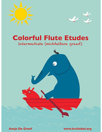 Colorful Flute Etudes - Intermediate