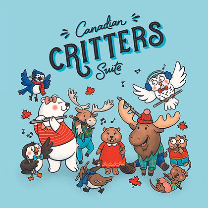 Canadian Critters Suite - Digital PDF