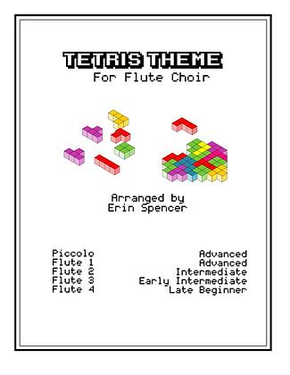 Tetris Theme: for Flute Choir