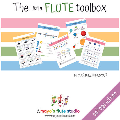 The little Flute Toolbox - solfége edition
