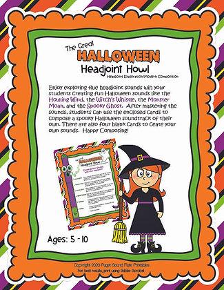 The Great Halloween Headjoint Howl