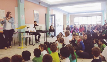 Here's a snapshot of the crowd from yesterday's performance of Luna's Magic Flute _thekindergartenacademy - our biggest audience yet! There_