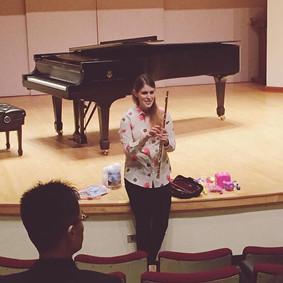 We're live at Flute Day! Our colleague a