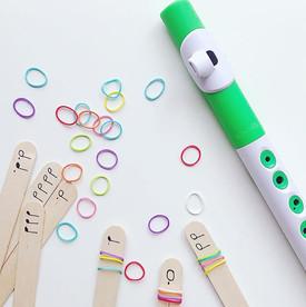 "A new take on ""Rhythm Sticks"" 💥_⠀⠀⠀⠀⠀⠀⠀"
