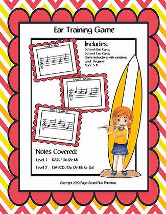 Summer Student Ear Training Game