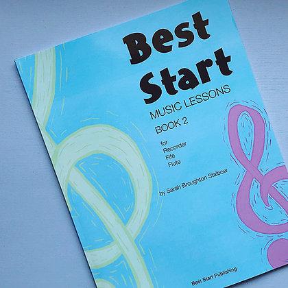 Best Start Music Lessons: Book 2 - PRE-ORDER!