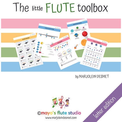 The little Flute Toolbox - letter edition