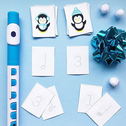 Playful Penguin Memory Game