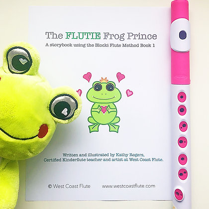 The Flutie Frog Prince - TEACHER BUNDLE