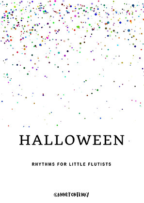 Halloween Rhythm Cards