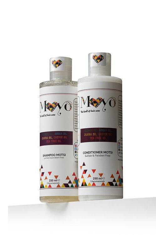 250ml Shampoo & Conditioner Motsi