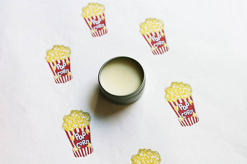 Buttered Popcorn Scented Natural Lip Balm