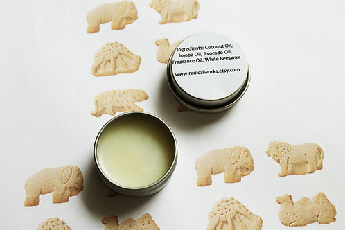 Animal Cracker Scented Natural Solid Perfume
