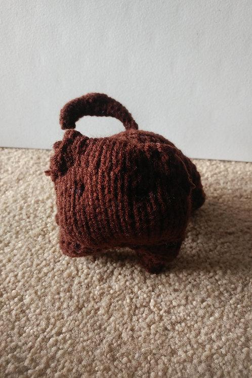 Brown Kitty Plush Toy Stuffed Animal